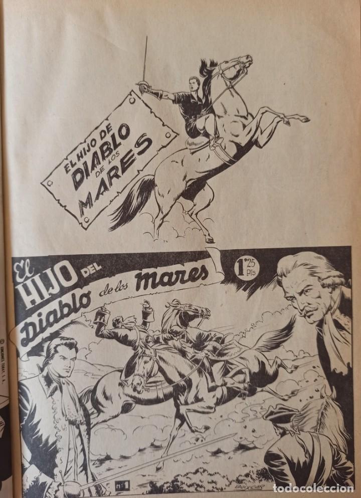 Cómics: EL HIJO DEL DIABLO DE LOS MARES - 1 TOMO ENCUADERNADO EN SEMIPIEL - 22 NUMEROS MAS 5 EXTRAS - EDIT - Foto 4 - 283363578