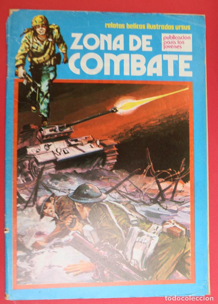 ZONA DE COMBATE Nº 130 - RELATOS BELICOS ILUSTRADOS URSUS (Tebeos y Comics - Ursus)