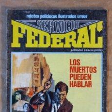 Cómics: SERVICIO FEDERAL - URSUS / NÚMERO 4. Lote 286733028