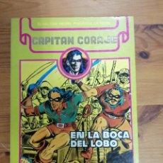 Cómics: CAPITAN CORAJE - EN LA BOCA DEL LOBO RETAPADO. Lote 287827953