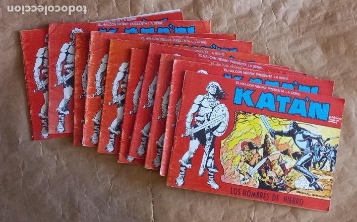 KATAN - URSUS / COLECCIÓN COMPLETA (10 NÚMEROS) (Tebeos y Comics - Ursus)