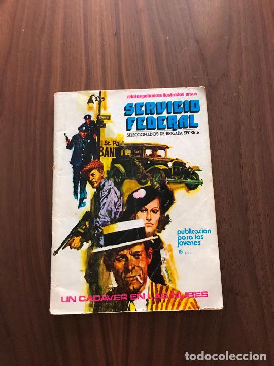 SERVICIO FEDERAL Nº 2, NOVELA GRÁFICA, EDITORIAL URSUS (Tebeos y Comics - Ursus)