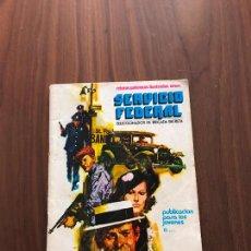 Cómics: SERVICIO FEDERAL Nº 2, NOVELA GRÁFICA, EDITORIAL URSUS. Lote 288028068