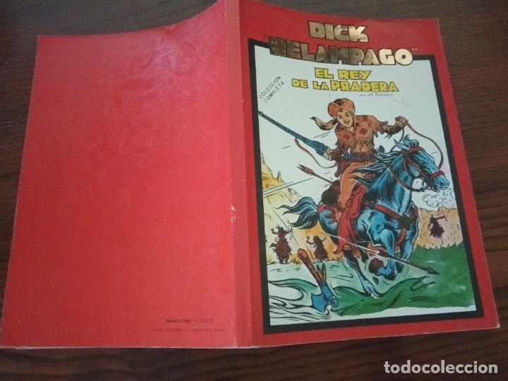 Cómics: DICK RELAMPAGO,- EL REY DE LA PRADERA, G. Iranzo, col. completa, Ursu 1982. - Foto 2 - 288205118