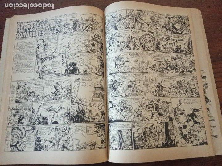 Cómics: DICK RELAMPAGO,- EL REY DE LA PRADERA, G. Iranzo, col. completa, Ursu 1982. - Foto 3 - 288205118