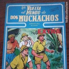 Cómics: LA VUELTA AL MUNDO DE DOS MUCHACHOS. BOIXCAR. Lote 288205648