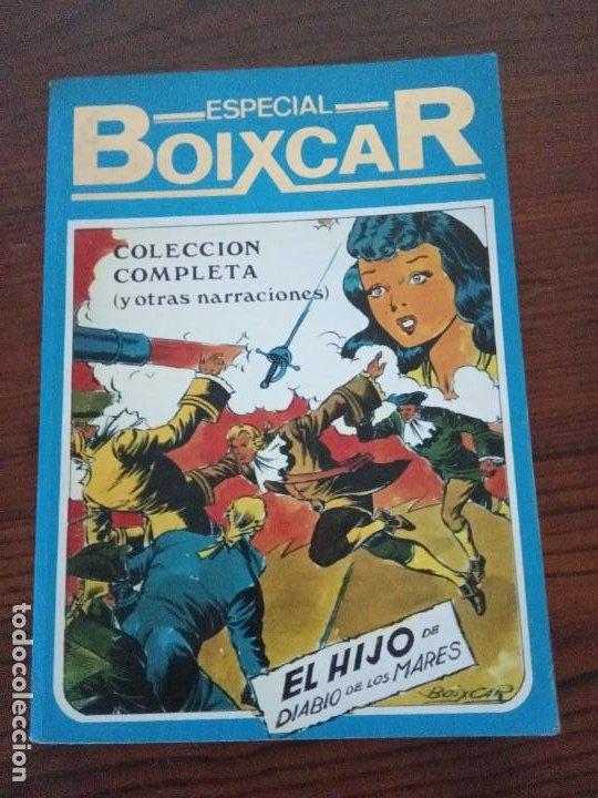 ESPECIAL BOIXCAR.COLECCIÓN COMPLETA,EL HIJO DEL DIABLO DE LOS MARES.EDICIONES URSUS. (Tebeos y Comics - Ursus)