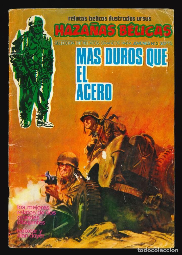 HAZAÑAS BÉLICAS - URSUS / NÚMERO 12 (Tebeos y Comics - Ursus)