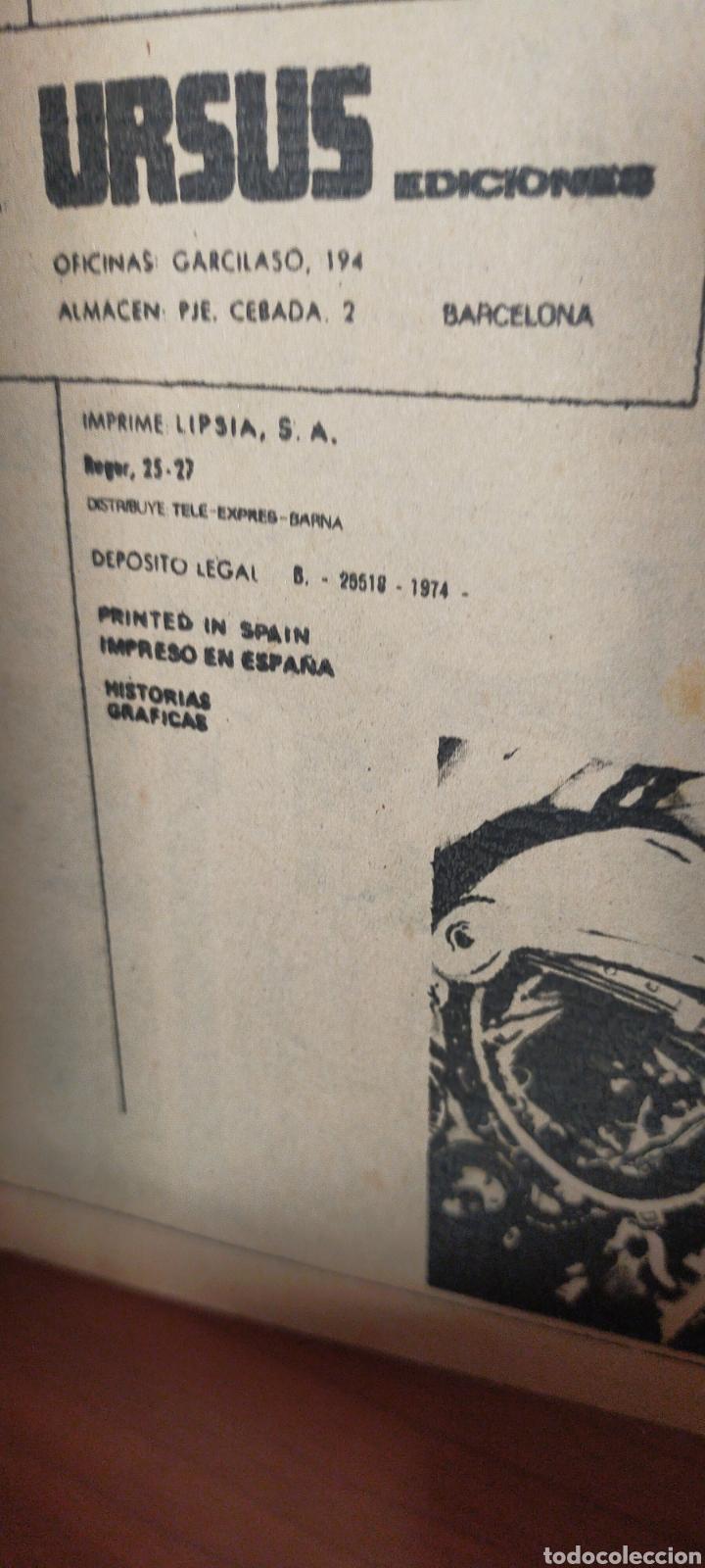 Cómics: RELATOS DE ANTICIPACIÓN ILUSTRADOS URSUS OVNI NÚMERO 1 EDITORIAL URSUS - Foto 3 - 288344663