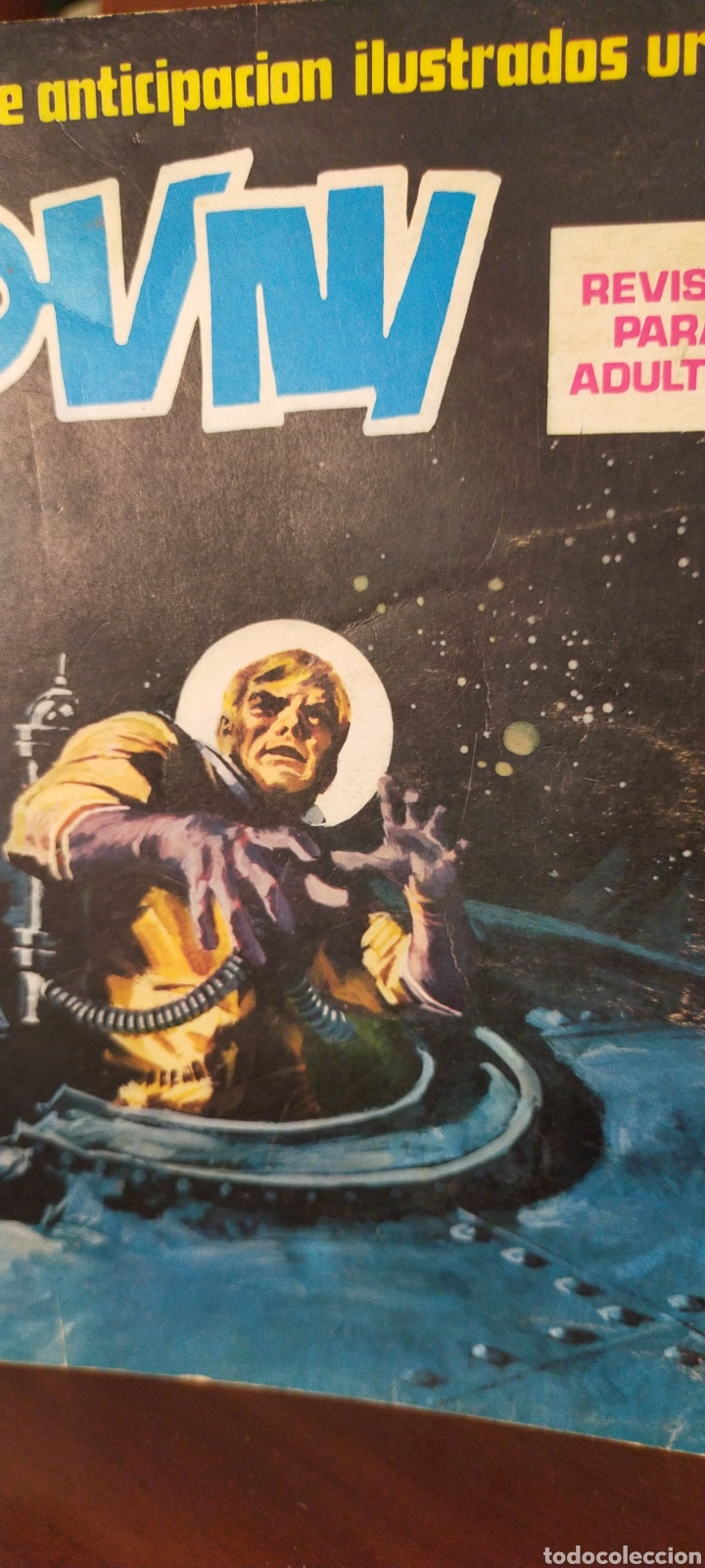 RELATOS DE ANTICIPACIÓN ILUSTRADOS URSUS OVNI NÚMERO 1 EDITORIAL URSUS (Tebeos y Comics - Ursus)