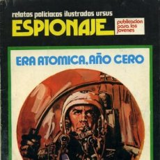 Cómics: ESPIONAJE-URSUS- Nº 3 -ERA ATÓMICA, AÑO CERO-1974-JOSEP GUAL-ESCASO-BUENO-LEAN-5595. Lote 289794278