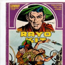 Cómics: RAYO KIT, Nº 7., DUELO INDIO, G. IRANZO. EDICIONES URSUS 1982. Lote 289862618