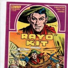 Cómics: RAYO KIT, Nº 1. LLEGAN LOS INDIOS, G. IRANZO. EDICIONES URSUS 1982. Lote 289862833