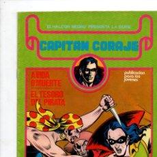 Cómics: EL HALCON NEGRO PRESENTA: CAPITAN CORAJE Nº 2...., G. IRANZO. EDICIONES URSUS 1982. Lote 289864868