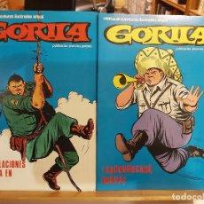 Cómics: * GORILA * ED. URSUS, 1980 * COMPLETA 8 Nº IMPECABLES *. Lote 295866558