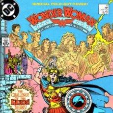 Cómics: WONDER WOMAN # 10 (DC,1987) - GEORGE PEREZ - PORTADA TRIPLE DESPLEGABLE. Lote 24188796