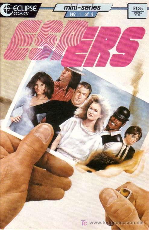 COMPLETA - ESPERS: THE STORM # 1 AL 5 (ECLIPSE COMICS,1986) (Tebeos y Comics - Comics Lengua Extranjera - Comics USA)