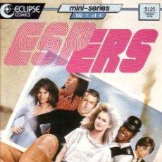 Cómics: COMPLETA - ESPERS: THE STORM # 1 AL 5 (ECLIPSE COMICS,1986). Lote 27229153