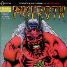 Cómics: MISEROTH : AMOK HELL # 1 (NORTHSTAR,1994) - RED FOIL VARIANT - CARDSTOCK COVER - ADAM MCDANIEL. Lote 26001020