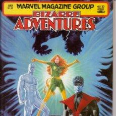 Fumetti: BIZARRE ADVENTURES # 27 - X-MEN (MARVEL,1981) - JOHN BUSCEMA, GEORGE PEREZ Y DAVE COCKRUM. Lote 26735816