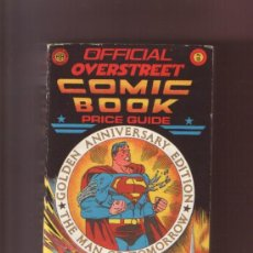 Comics : OVERSTREET COMIC-BOOK PRICE GUIDE Nº 18. EDICION ORIGINAL AMERICANA. 1988. BUEN ESTADO. Lote 8567529