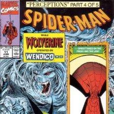 Cómics: SPIDER-MAN VOL.1 # 11 (MARVEL,1991) - TODD MCFARLANE - WOLVERINE - SPIDERMAN. Lote 23370941