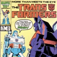 Cómics: TRANSFORMERS VOL.1 # 20 (MARVEL,1986). Lote 26811721