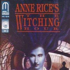 Cómics: COMPLETA - ANNE RICE - THE WITCHING HOUR # 1 AL 5 (MILLENNIUM,1993) - LA HORA DE LAS BRUJAS. Lote 26811844