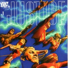 Cómics: JUSTICE # 1 (DC,2005) - HEROES COVER - 1ST EDITION - ALEX ROSS - JUSTICE LEAGUE. Lote 18666547