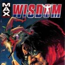 Cómics: COMPLETA - WISDOM # 1 AL 6 (MARVEL-MAX,2007) - EXCALIBUR. Lote 26811847