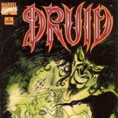 Cómics: COMPLETA - DRUID # 1 AL 4 (MARVEL,1995) - WARREN ELLIS - LEONARDO MANCO. Lote 25959911