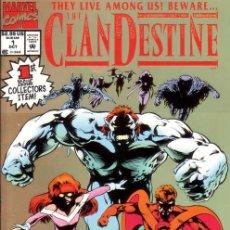 Cómics: COMPLETA - CLANDESTINE # 1 AL 12 (MARVEL,1994) - ALAN DAVIS. Lote 26395026