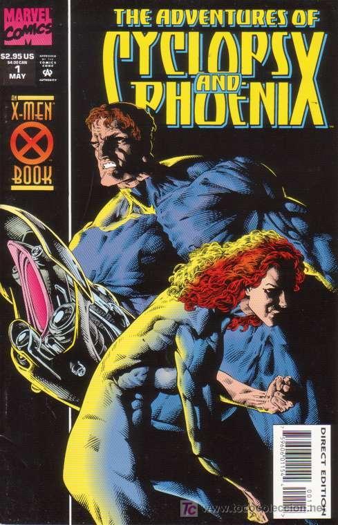 COMPLETA - ADVENTURES OF CYCLOPS AND PHOENIX # 1 AL 4 (MARVEL,1994) - X-MEN - CABLE (Tebeos y Comics - Comics Lengua Extranjera - Comics USA)