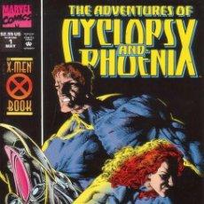 Comics - COMPLETA - ADVENTURES OF CYCLOPS AND PHOENIX # 1 al 4 (MARVEL,1994) - X-MEN - CABLE - 26321796