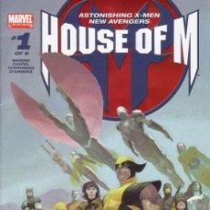 Cómics: COMPLETA - HOUSE OF M # 1 AL 8 (MARVEL,2005) - AVENGERS - X-MEN. Lote 27624014