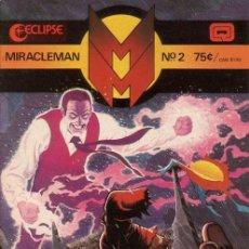 Cómics: MIRACLEMAN # 2 (ECLIPSE,1985) - ALAN MOORE - GARRY LEACH - ALAN DAVIS. Lote 25640474