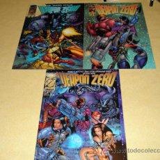 Cómics: LOTE COMICS USA. WEAPON ZERO; LOS NUMEROS T-4,T-3 Y T-2. TODOS PERFECTOS. EN INGLES.. Lote 27143930