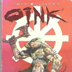 Cómics: OINK -*** HEAVEN`S BUTCHER *** JOHN MULLER. Lote 15483505