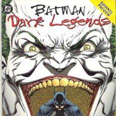 Cómics: BATMAN *** DARK LEGENDS*** 1996. Lote 49195388