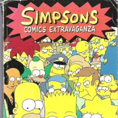 Cómics: SIMPSONS COMICS *** STRIKE BACK *** FIRST EDITION. Lote 14066930