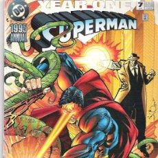 Cómics: SUPERMAN *** YEAR ONE ***1995 ANUAL ***. Lote 6855640