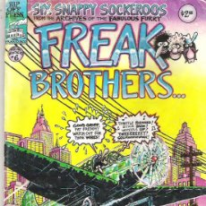 Cómics: FREAK BROTHERS AND FAT FREDDY`S CAT NUM 6. Lote 6866665