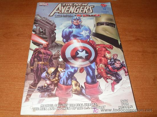 CAJ-061297 THE NEW AVENGERS THE SPIRIT OF AMERICA (Tebeos y Comics - Comics Lengua Extranjera - Comics USA)