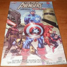 Cómics: CAJ-061297 THE NEW AVENGERS THE SPIRIT OF AMERICA. Lote 105297796