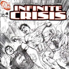 Cómics: INFINITE CRISIS # 4 - SKETCH COVER - JIM LEE (DC,2006) . Lote 23331213