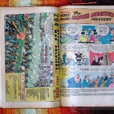 Cómics: TOMO MICKEY MOUSE.SUPER GOOF.DONALD DUCK.AÑOS 70.EDICION USA.14 TBO EN TOTAL.ENCUADERNADOS EN CARTON. Lote 26105648