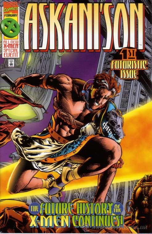 COMPLETA - ASKANI'S SON # 1 AL 4 (MARVEL,1996) - X-MEN - CABLE - GENE HA (Tebeos y Comics - Comics Lengua Extranjera - Comics USA)