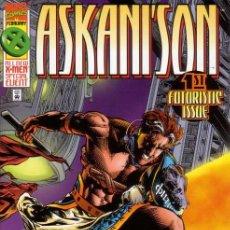 Cómics: COMPLETA - ASKANI'S SON # 1 AL 4 (MARVEL,1996) - X-MEN - CABLE - GENE HA. Lote 26395024