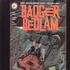 Cómics: BADGER BEDLAM VOL 2 Nº 1 / AUTORES : MIKE BARON & STEVEN BUTLER - ( EDICION EN INGLES ). Lote 9549286