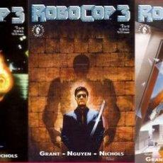 Cómics: COMPLETA - ROBOCOP 3 # 1 AL 3 (DARK HORSE,1993). Lote 26558651